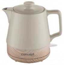Rychlovarná konvice Concept RK0061, keramika, 1l