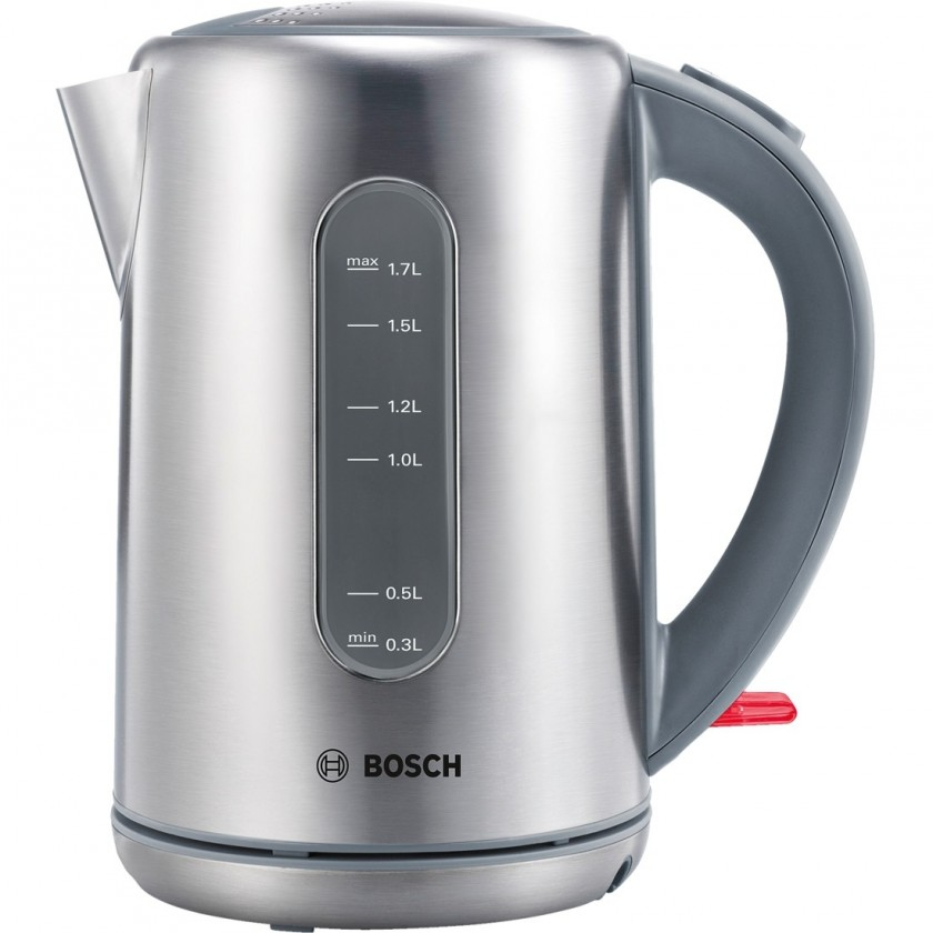 Rychlovarná konvice Rychlovarná konvice Bosch TWK7901, nerez, 1,7l