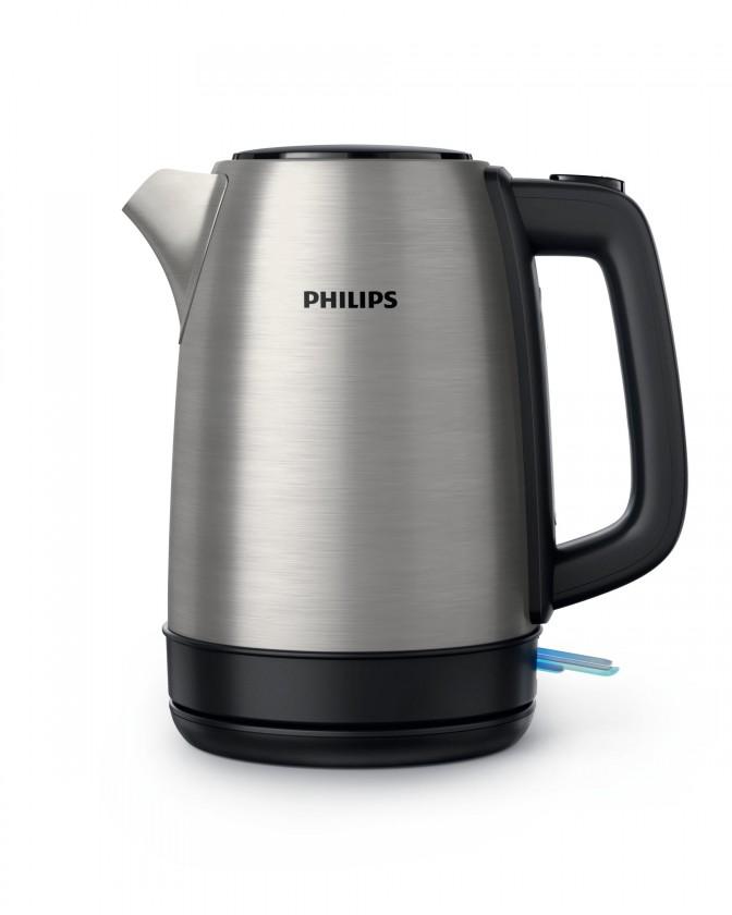 Rychlovarná konvice Rychlovarná konvice Philips HD935091, nerez, 1,7l