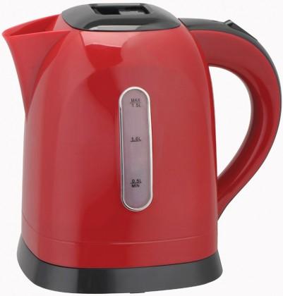 Rychlovarná konvice Sovio KB1518RB, červená, 1,5l