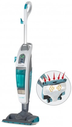 S kabelem Parní mop Concept CP3000 Perfect Clean, 3v1