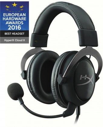 S mikrofonem Headset HyperX Cloud II (KHX-HSCP-GM) černý