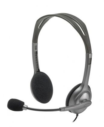 S mikrofonem Logitech Stereo Headset H111