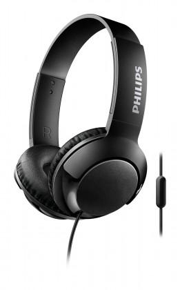 S mikrofonem Sluchátka Philips SHL3075BK (SHL3075BK/00) černá