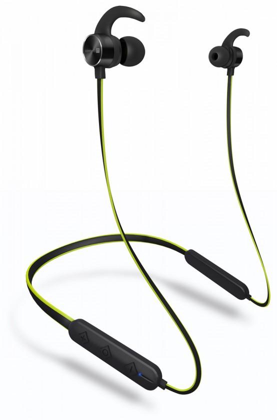 S mikrofonem Sportovní bezdrátová sluchátka Connect IT CEP-4000-GR, zelená