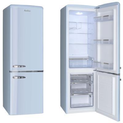 S mrazákem dole Kombinovaná chladnička Amica KGCR 387100 L, A++