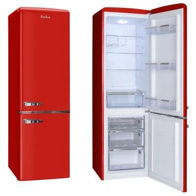 S mrazákem dole Kombinovaná chladnička Amica KGCR 387100 R, A++