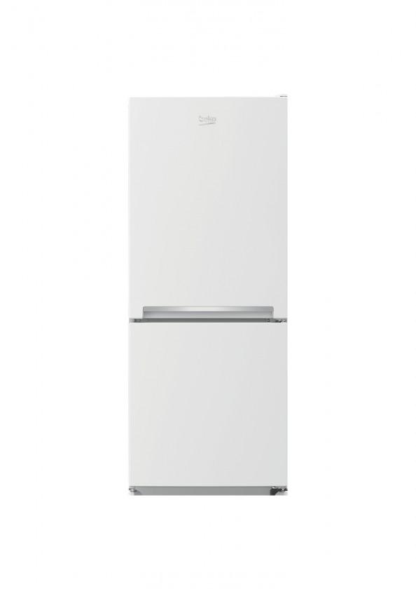S mrazákem dole Kombinovaná lednice s mrazákem dole Beko RCSA 210 K20W