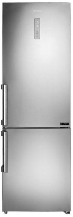 S mrazákem dole Kombinovaná lednice s mrazákem dole Concept LK5460SS