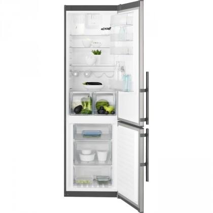 S mrazákem dole Kombinovaná lednice s mrazákem dole Electrolux EN3853MOX, A++