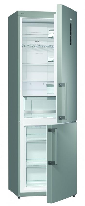 S mrazákem dole Kombinovaná lednice s mrazákem dole Gorenje N 6X2 NMX, A++