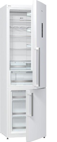 S mrazákem dole Kombinovaná lednice s mrazákem dole Gorenje NRK 6202TW, A++