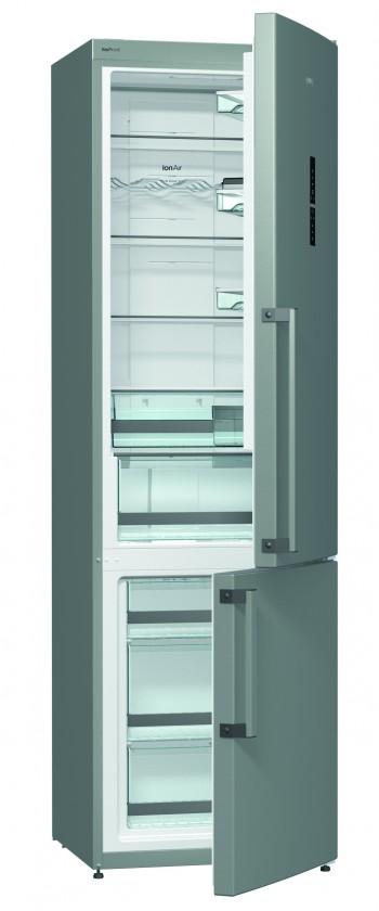 S mrazákem dole Kombinovaná lednice s mrazákem dole Gorenje NRK 6203 TX, A+++