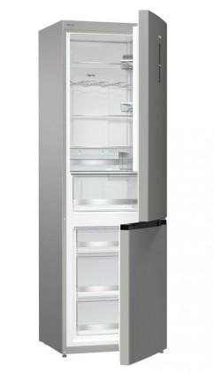 S mrazákem dole Kombinovaná lednice s mrazákem dole Gorenje NRK6193TX4, A+++