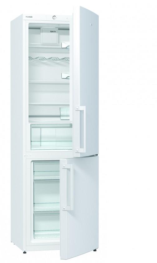 S mrazákem dole Kombinovaná lednice s mrazákem dole Gorenje RK 6192 BW, A++