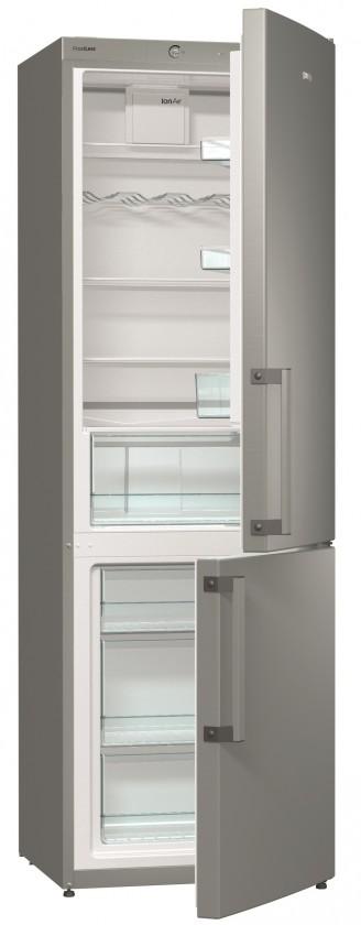 S mrazákem dole Kombinovaná lednice s mrazákem dole GORENJE RK 6192 BX, A++