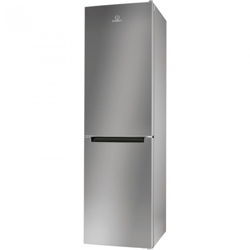 S mrazákem dole Kombinovaná lednice s mrazákem dole Indesit LR9 S2Q F X B, A++
