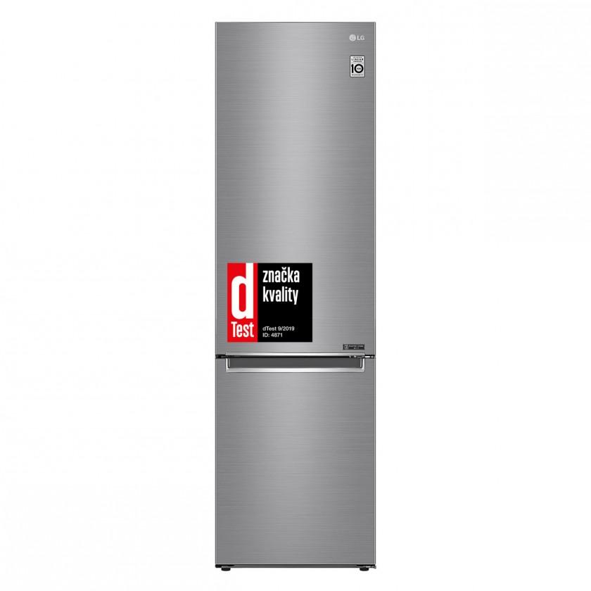 S mrazákem dole Kombinovaná lednice s mrazákem dole LG GBB62PZGFN, A+++