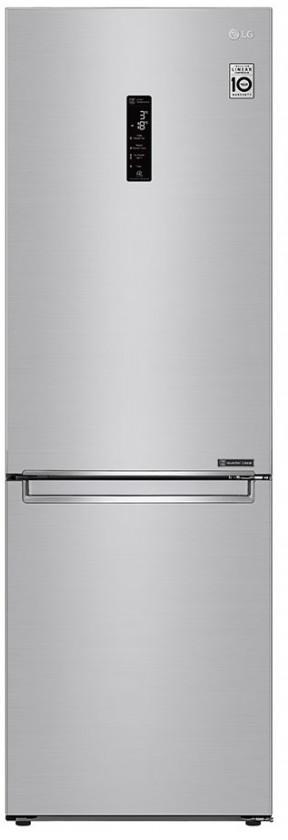 S mrazákem dole Kombinovaná lednice s mrazákem dole LG GBB71NSDZN, A++