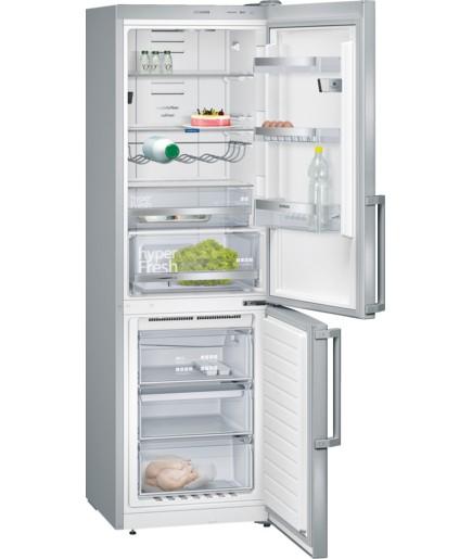 S mrazákem dole Kombinovaná lednice s mrazákem dole Siemens KG 36NHI32, A++