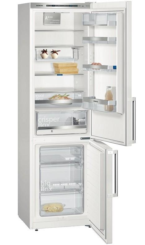 S mrazákem dole Kombinovaná lednice s mrazákem dole Siemens KG 39EBW40, A+++