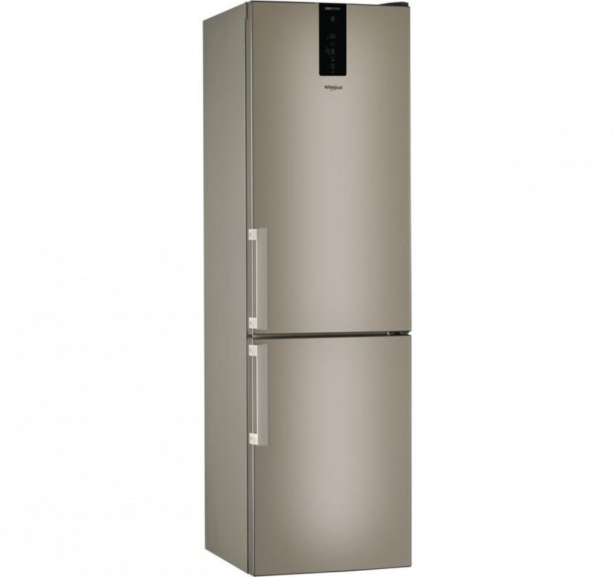 S mrazákem dole Kombinovaná lednice s mrazákem dole Whirlpool W9 931D B H