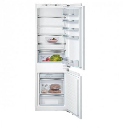 S mrazákem dole Vestavná kombinovaná lednice Bosch KIS86AFE0, A++