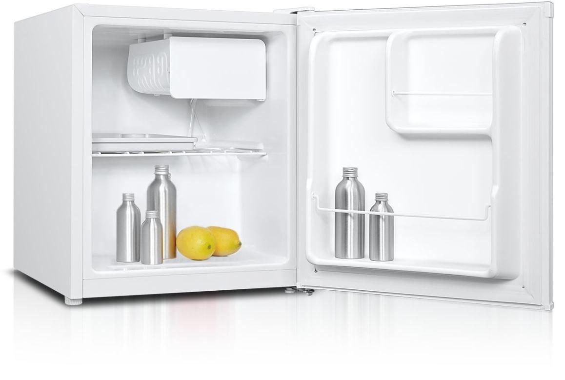 S mrazákem nahoře Jednodveřová lednice Guzzanti GZ05A