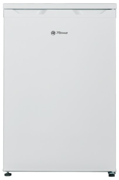 S mrazákem nahoře Jednodveřová lednice Romo RTF121A
