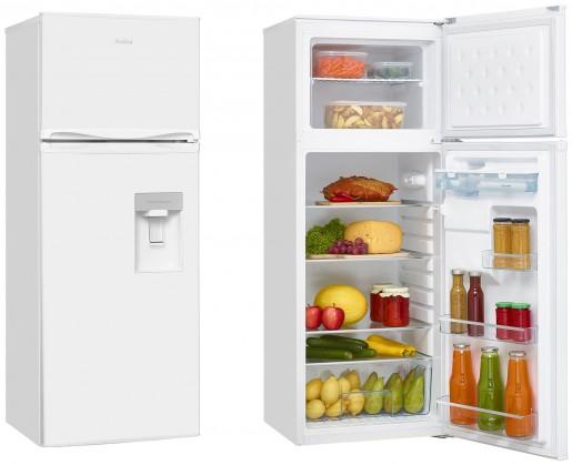 S mrazákem nahoře Kombinovaná lednice s mrazákem nahoře Amica VD 1441 AWW