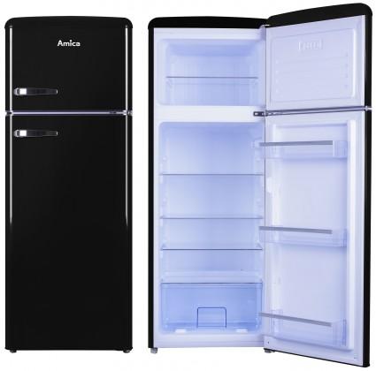 S mrazákem nahoře Kombinovaná lednice s mrazákem nahoře Amica VD 1442 AB