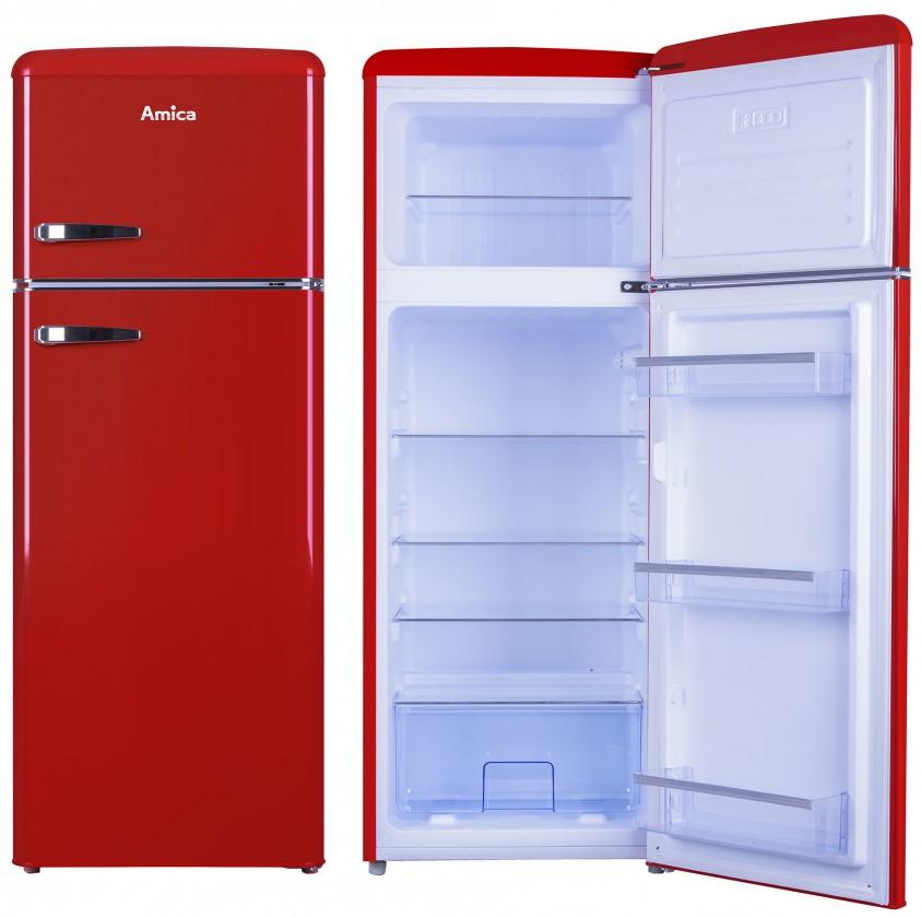 S mrazákem nahoře Kombinovaná lednice s mrazákem nahoře Amica VD 1442 AR