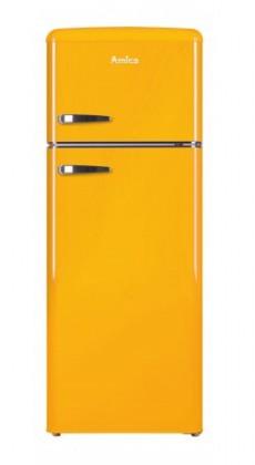S mrazákem nahoře Kombinovaná lednice s mrazákem nahoře Amica VD 1442 AY