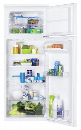 S mrazákem nahoře Kombinovaná lednice s mrazákem nahoře Zanussi ZRT23100WA