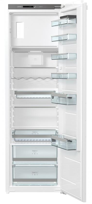 S mrazákem nahoře Vestavná jednodveřová lednice Gorenje RBI5182A1