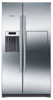 S výrobníkem ledu Americká lednice Bosch KAG90AI20