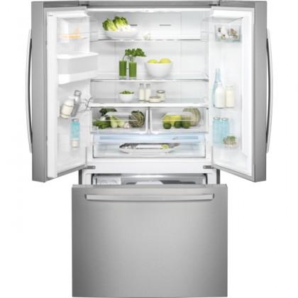 S výrobníkem ledu Americká lednice ELECTROLUX EN6086JOX POUŽITÉ, NEOPOTŘEBENÉ ZBOŽÍ