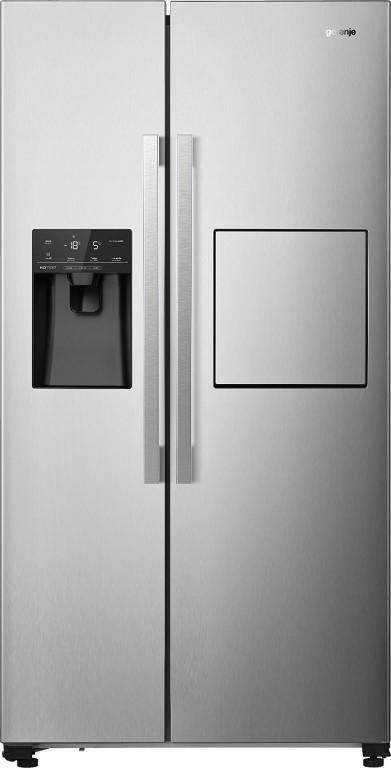 S výrobníkem ledu Americká lednice Gorenje NRS9182VXB1, A++
