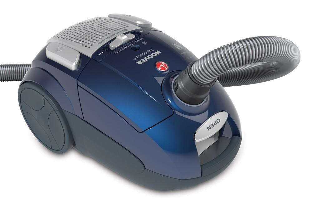 Sáčkový vysavač Vysavač podlahový Hoover Telios Plus TE80PET 011 modrý