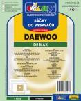 Sáčky do vysavače Daewoo D2 MAX 8ks