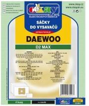 Sáčky do vysavače Daewoo D2MAX, 4ks