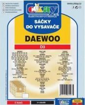 Sáčky do vysavače Daewoo D3, 5ks