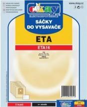 Sáčky do vysavače Eta ETA16, 5ks
