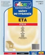Sáčky do vysavače Eta ETA18, 5ks