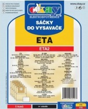 Sáčky do vysavače Eta ETA2, 5ks