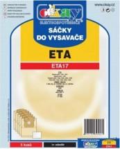 Sáčky do vysavače ETA17 5ks