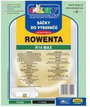 Sáčky do vysavače Rowenta MAXR14, 4ks