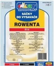 Sáčky do vysavače Rowenta R14, 3ks