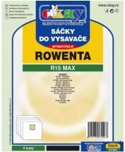 Sáčky do vysavače Rowenta R15MAX, antibakteriální, 4ks