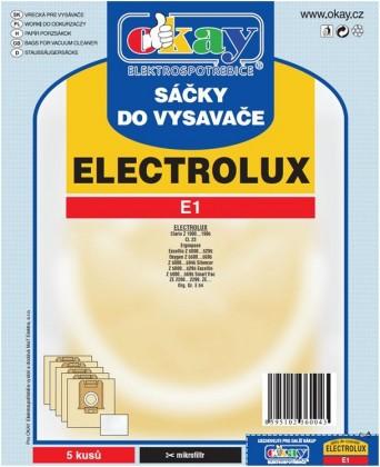 Sáčky do vysavače Sáčky do vysavače Elektrolux E1 10ks